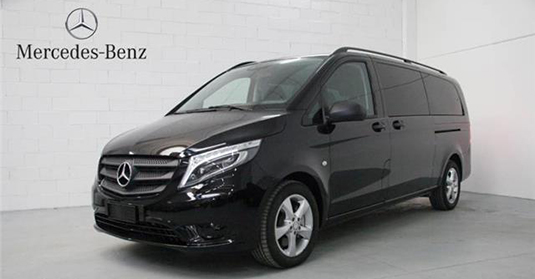 Mercedes Classe V Extra Long Nero